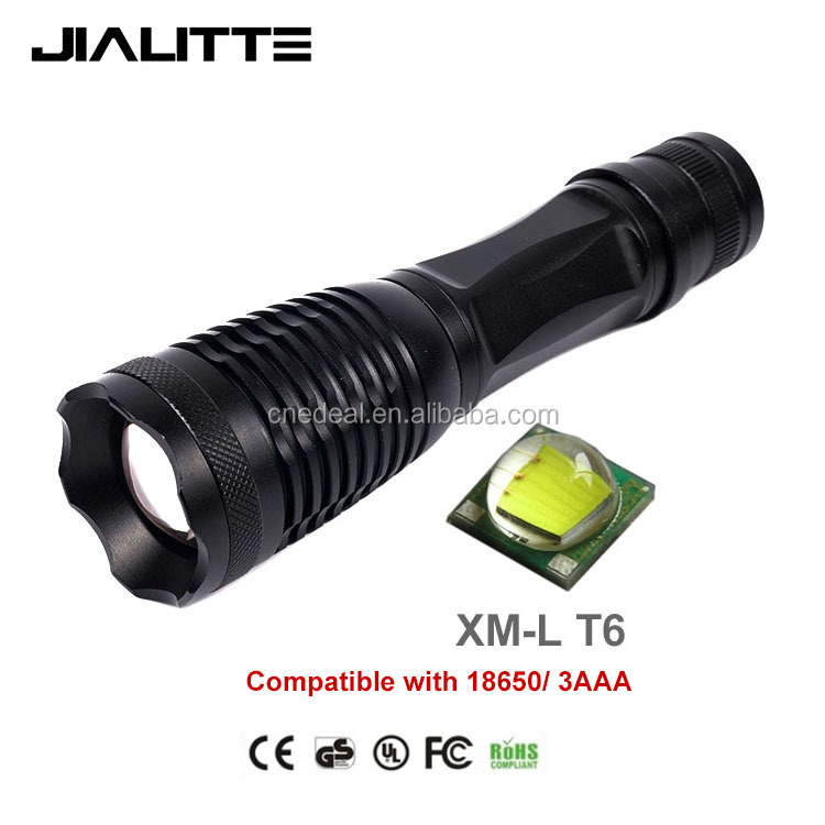 Jialitte F004 T6 Led Mini Super Bright 5 Mode led tactical flashlights Best Tools for Hiking, Hunting, Fishing and Camping