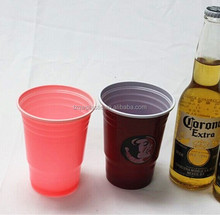 18oz disposable Plastic cup for beer drinking