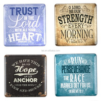 Vintage Graphics Inspirational Fridge Magnet Set (4) resin fridge magnets
