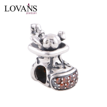 Supplier Beads Rhinestone Football Charms