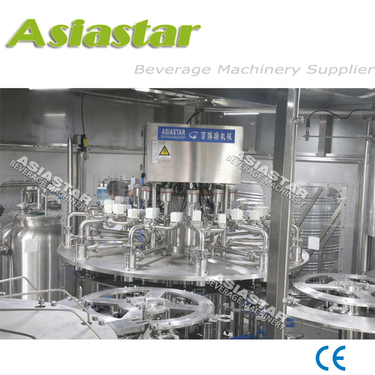 Customized design automatic 3L-18L bottle water filling machine