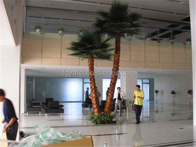 2014 hot sell artificial decorative palm trees for landscaping