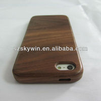 Real Wood hard case for iphone 5 accessories wholesale, for iphone5 natural wood case/cover