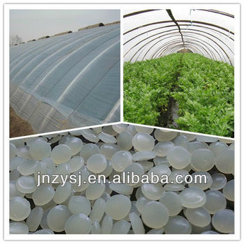 Agricultural plastic tunnel film fog assemble prevent and plastic film longevity masterbatch