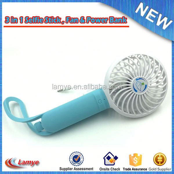 Factory Price Plastic Hand Fan , Promotion Mini Usb Rechargeable Electric Stand Fan