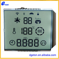 For Solar water heater LCD display glass panel