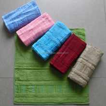 terry yarn antibacterial pestemal fade resistant quick-dry 100% bamboo spa pool face hand fingertip bath towel