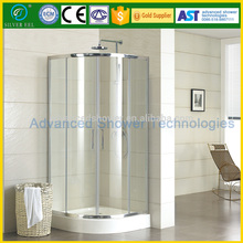 easy clean tempered glass sliding doors quadrant shower alluminum door