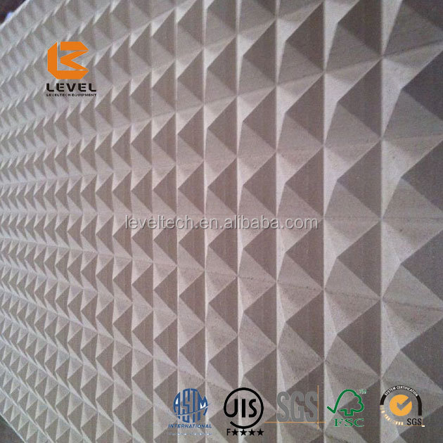 Nature Bamboo Bathroom Wall Covering Panels Decorative 3D Embossed Wall Covering Panels