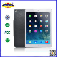 Luxury Cowhide Genuine Leather Flip Cover For IPad Air