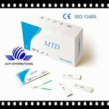 High Quality and High Sensitivity MTD Test Cassette and Strip with CE approved