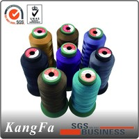 High tenacity plastic cones of embroidery thread for supermarket