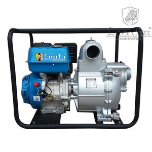 3 inch 4 inch GX390 GX420 Engine Powered 100mm Lift Gasoline Petrol Trash Water Pump Sewage Pump