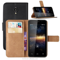 For Vodafone Smart 4 Turbo Magnetic Wallet Pu Leather Card Slots Case Cover