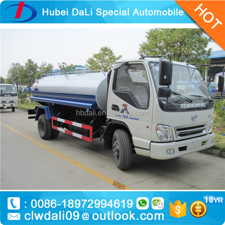 5000L mini water sprinkler mini water truck for sale
