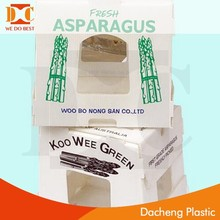 Asparagus Corrugated Plastic Packaging Box