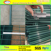 Square welded wire mesh, wire mesh fence, used fencing for sale