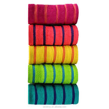 Hot sale Essential Home Bathroom Beach Towel - Striped wholesale 27'x58' BtT-091 China Supplier