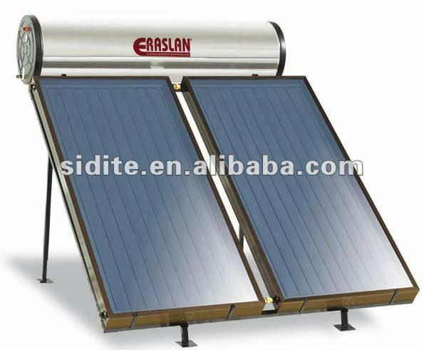 CE flate plate pressured solar water heaterFP-F-25