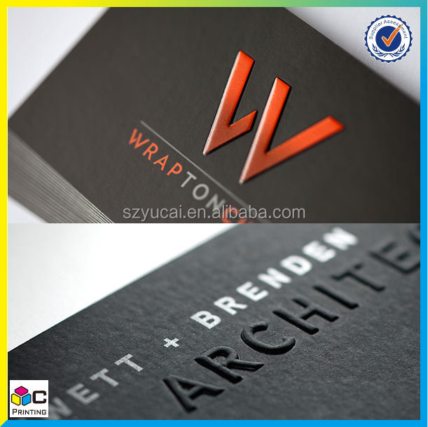 Custom business card, business card printing, High quality embossed business card