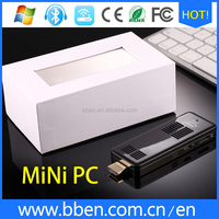 China mini pc!!! Z8300 mini sirocco fan internal mute fan tv stick support TF card Max 128GB