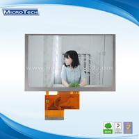 9.7 inch LCD monitor with touch screen LVDS interface 30 pin