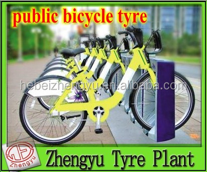 solid bike tire_ foam tyre for bike _new tubeless tire for public bicycle