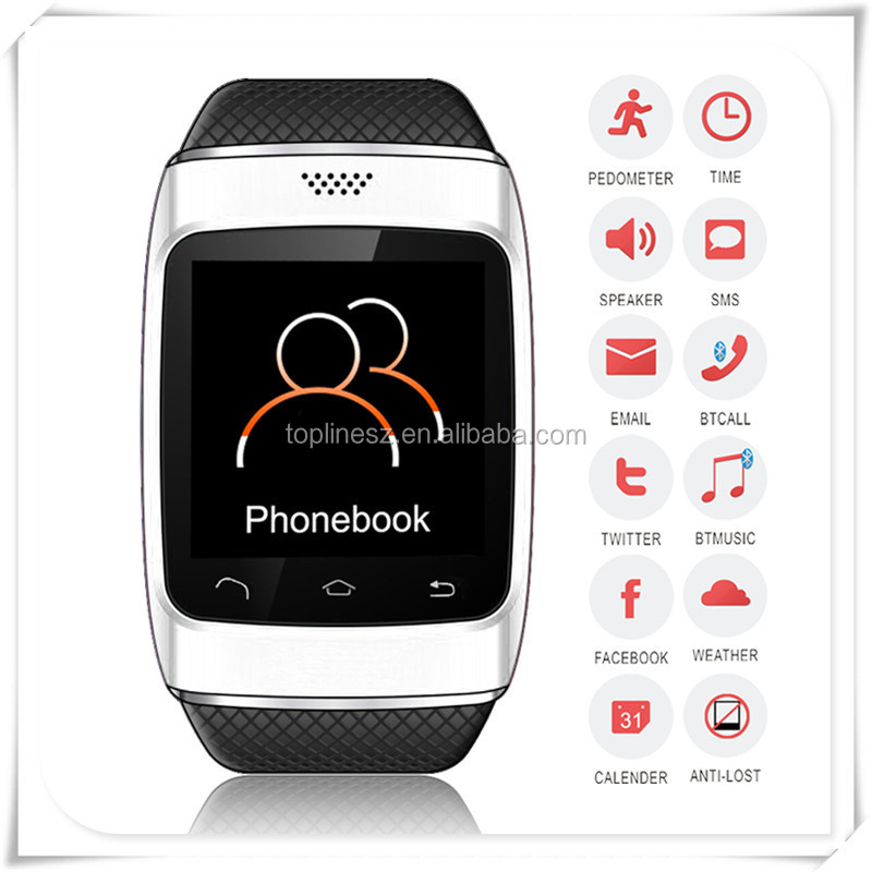 2014 new cheap touch screen electronics gps bluetooth wifi china android smart watch