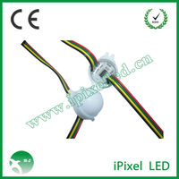 dmx controller rgb color 30mm led pixel string ws2801 from Shenzhen