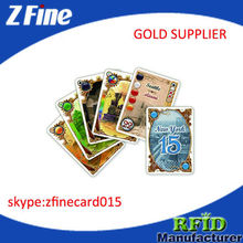 plastic playing cards / plastic card printing