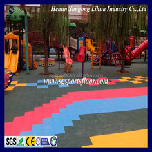 PP interlocking flooring used basketball court outdoor basketball court for sale