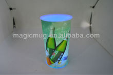 Light Up Bright Tumbler With Straw