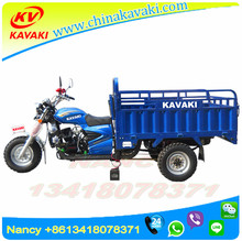 KAVAKI MOTOR 150cc Guangzhou Trike Truck Footrests Three Wheels Tricycle For Sale Made In China