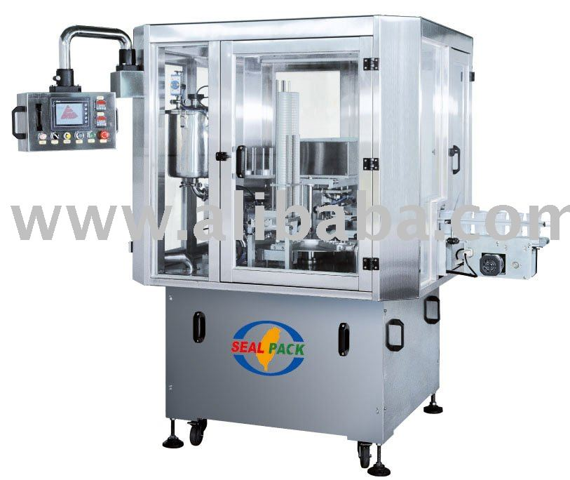Automatic Rotary Type Cup Filling & Sealing Machine