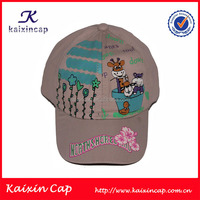 3D high profile embroidery baseball cap 100% cotton sports cap wholesale cap