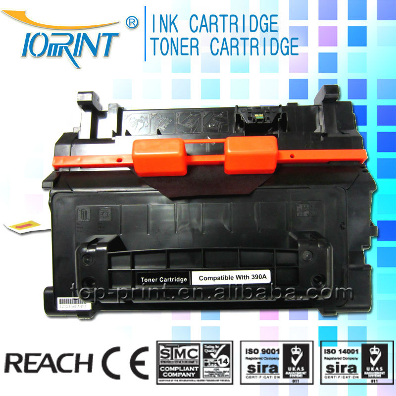Compatible HP CE390A Toner Cartridge 390A Toner Cartridge for HP Factory Supplier