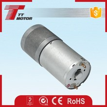 GM25-370CA permanent magnet dc geared motor 6v