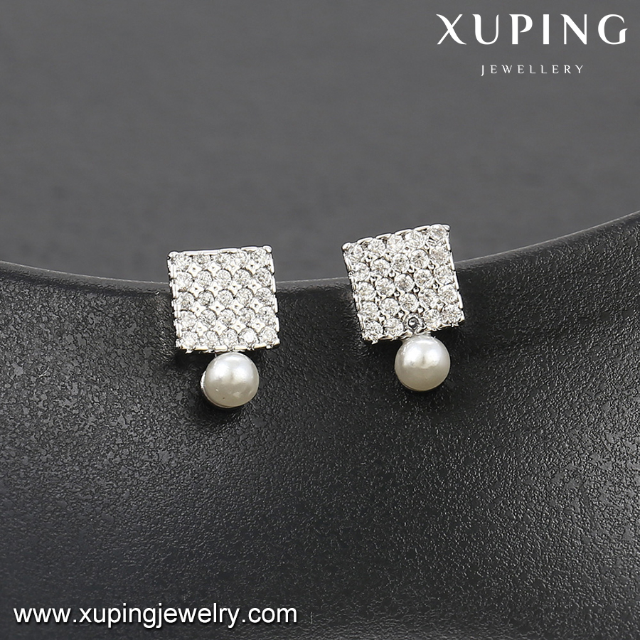 92320-fashion jewelry importers cultured pearl earrings