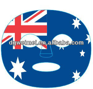 Australia Flag Game Full Face Temporary Tattoos
