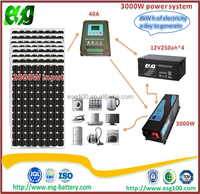 SOLAR ENERGY SYSTEM 3KW OFF GRID