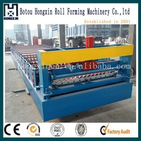 Corrugated sheet metal roof making machine with resonable price CE standard