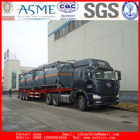 40FT ISO Tank Container for hydrochloric acid Transport