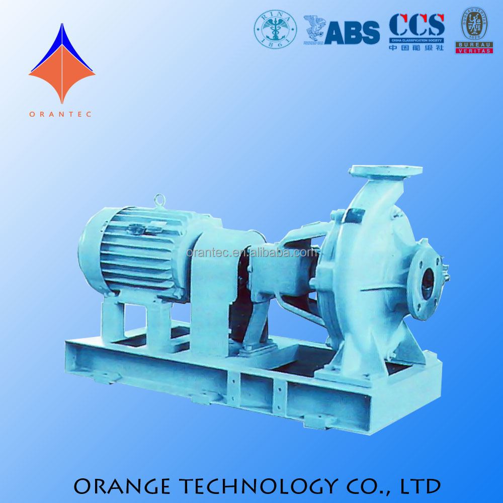 Horizontal 10kw Electric Water Centrifugal Pump with Common Base