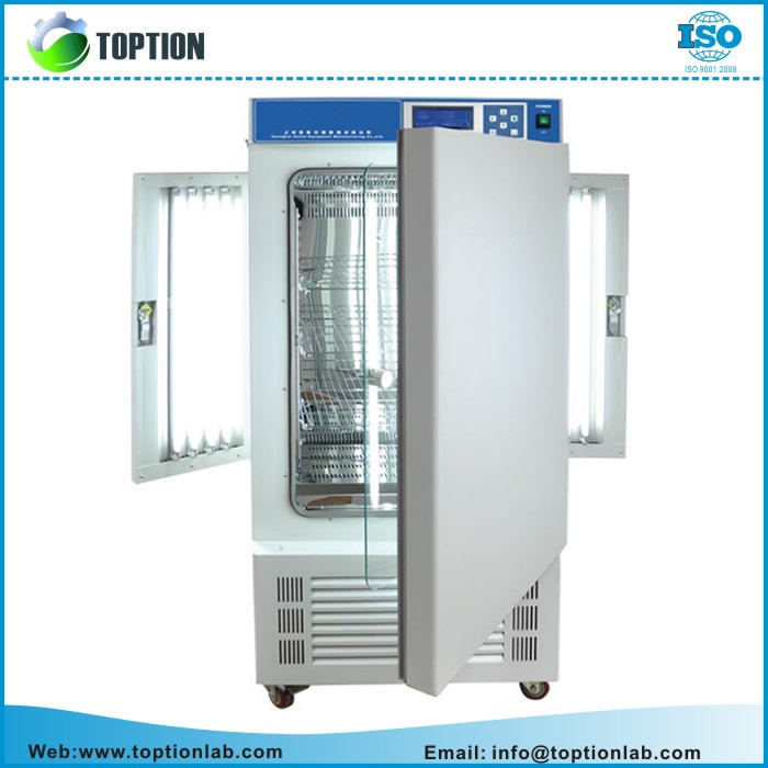 LED Display Artificial Climate Controlled Incubator