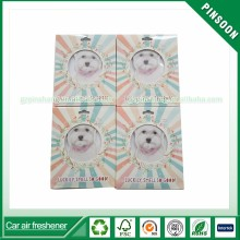 Choose Clinique happy scent hot selling hanging air freshener for car