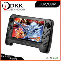 High Quality 7 inch Quad core 1G 8G android game console touch screen arcade game handheld game players