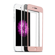 Premium mobile tempered glass for iphone 7 tempered glass screen protector