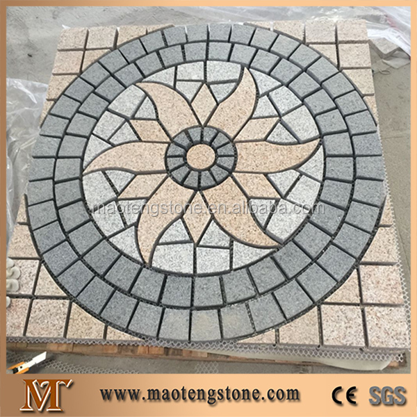 Granite paving stone, Flamed Pavers and Cobble Stone,Driveway grey granite cube paving stone