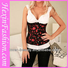 Fashion Pink Overbust Back Pain Corset