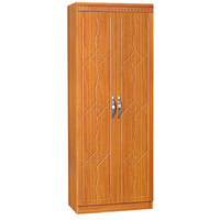 China furniture factory particle board wardrobe with dressing table